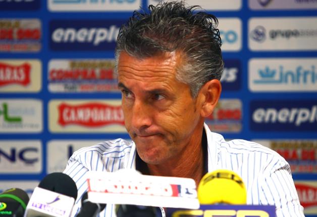 Alejandro Ceballos entrenador San Roque © Álvaro López