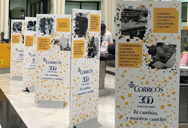 La exposici n 300 a os de correos se puede visitar en la oficina de cruz conde en c rdoba - Horario oficina correos madrid ...